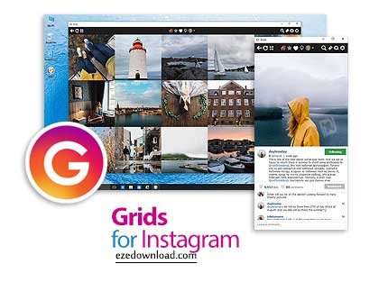 Grids for Instagram v6.1.4 Instagram Video, Photos Software For mac OSX