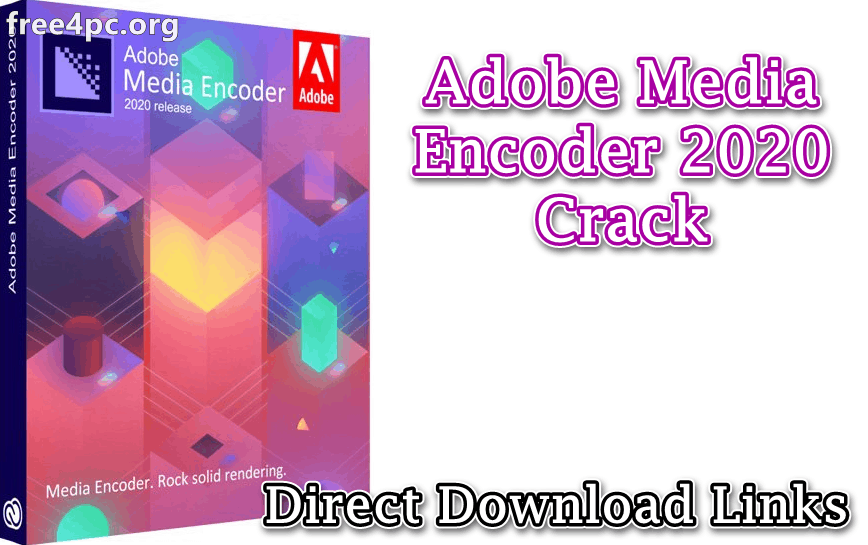 Adobe Media Encoder 2020 Video Encoder Software For MacOS